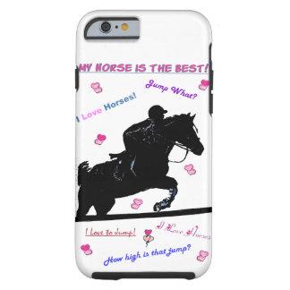 Horse Doodles iPhone 6 Case