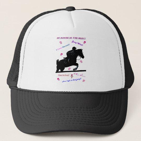 Horse Doodles Trucker Hat
