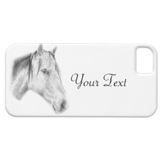 Horse Drawing iPhone SE/5/5s Case