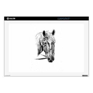 Horse drawing sketch art handmade laptop decals