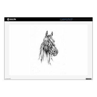 Horse drawing sketch art handmade laptop skins
