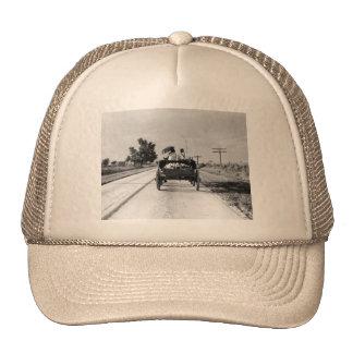 Horse drawn – 1938 mesh hats