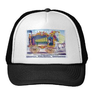 Horse Drawn Calliope Musical Instrument! Trucker Hat