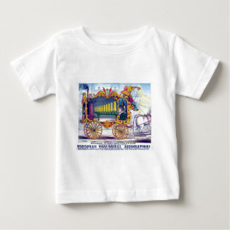 Horse Drawn Calliope Musical Instrument! Infant T-shirt