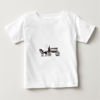 Horse Drawn Carriage Baby T-Shirt