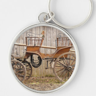 Horse Drawn Carriage Coach Surrey Gifts Keychain