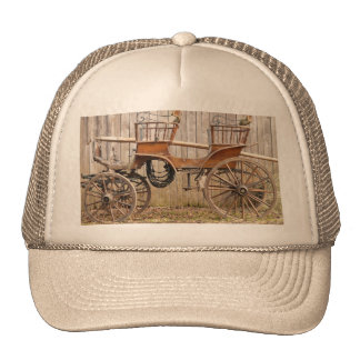 Horse Drawn Carriage Coach Surrey Gifts Trucker Hat