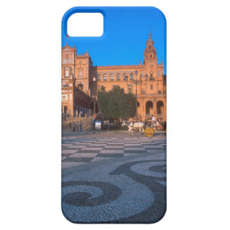 Horse drawn carriage in the Plaza de Espana in iPhone 5 Case