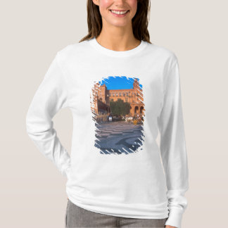 Horse drawn carriage in the Plaza de Espana in T-Shirt