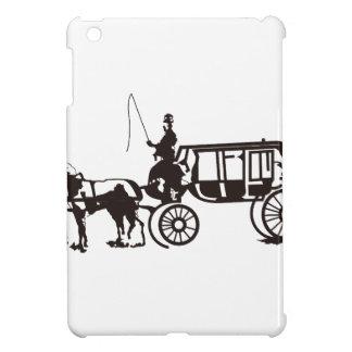 Horse Drawn Carriage iPad Mini Cover