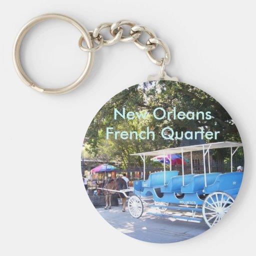 Horse Drawn Carriage Keychain