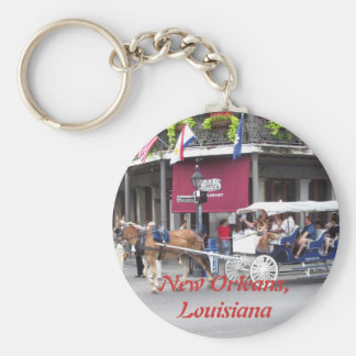 Horse Drawn Carriage Keychain