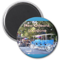 Horse Drawn Carriage Magnet