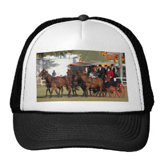 Horse Drawn Carriage Trucker Hat