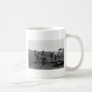 Horse-Drawn Corn Planter, 1940 Coffee Mug