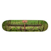 Horse Drawn Hay Rake Skateboard