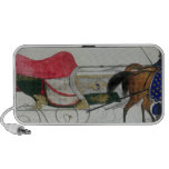 Horse Drawn Sleigh iPod Speaker