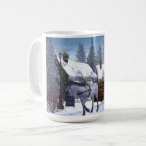 Horse Drawn Sleigh Mug