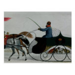 Horse Drawn Sleigh Postcard