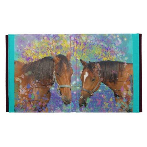 Horse Dream Fantasy Starring Two Dreamy Horses iPad Cases