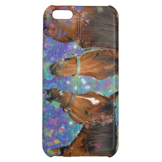 Horse Dream Fantasy Starring Two Dreamy Horses Cover For iPhone 5C