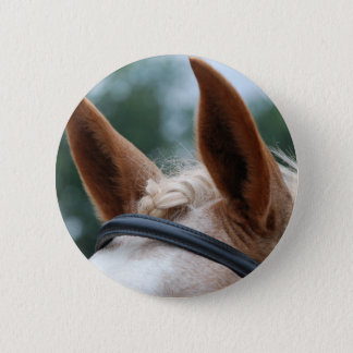 horse ears button