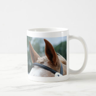 horse ears coffee mug