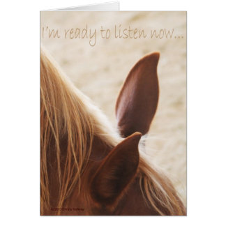 Horse Ears Collection Card