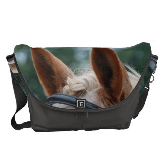 horse ears courier bag