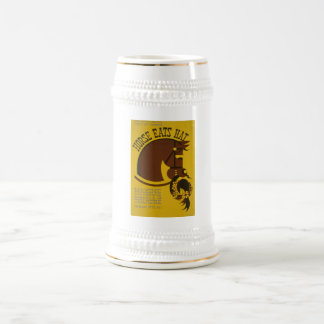 Horse Eats Hat - Edwin Denby - WPA Federal Theatre Beer Stein