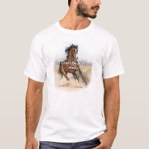 Horse eBooks - You Could Be Moments Away T-Shirt