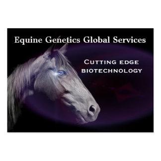 "Horse Elegant Professional  3.5"" x 2.5"" Business Card"