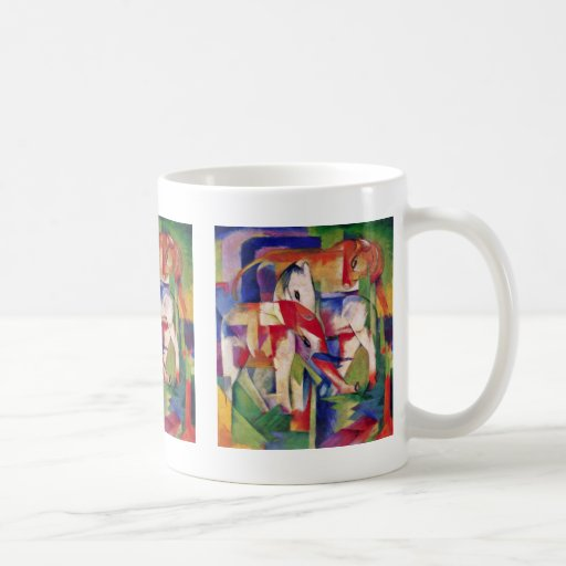 Horse Elephant Cow Winter By Marc Franz Coffee Mugs