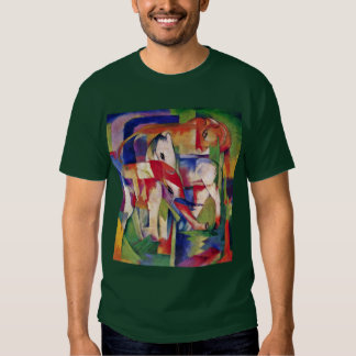 Horse Elephant Cow Winter By Marc Franz T-shirt