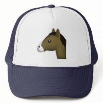 Horse - Emoji Trucker Hat