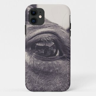 Horse Eye 001 iPhone 11 Case