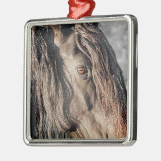 Horse Eye Metal Ornament