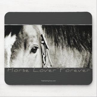 Horse Eye Photograph Mouse Pad