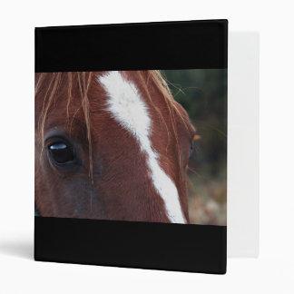 Horse Face Closeup Binders