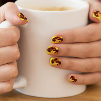 Horse face minx ® nail wraps