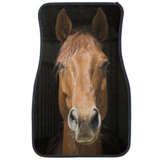 Horse Face Photograph Car Mat Zazzle