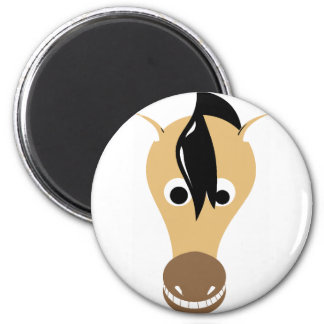 Horse Face Toothy Grin Magnet