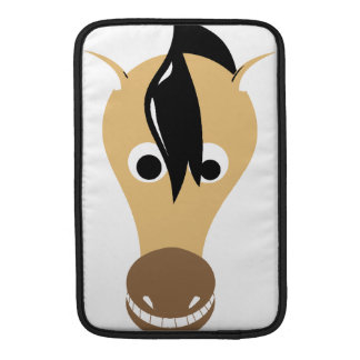 Horse Face Toothy Grin Sleeve For MacBook Air