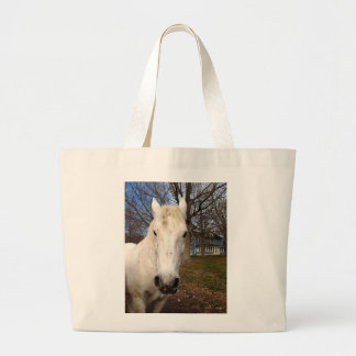 Horse Face Tote Bags