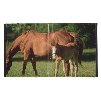 Horse Family iPad Folio Cover