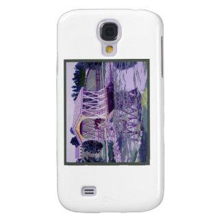 Horse Farm Bridge Galaxy S4 Cases