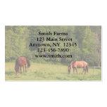 Horse Farm Business Card