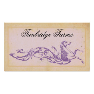 Horse Farm Riding Boarding Business Cards