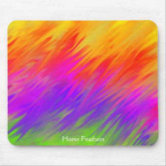'Horse Feathers' Mouse Pad by Spring Art 2012