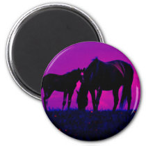 Horse & Filly Magnet